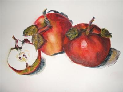 Apples Still life painting