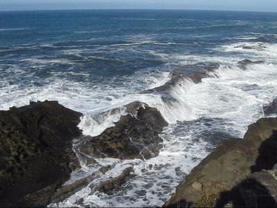 Sea in Motion, Seascape photographs, Oregon Coast
