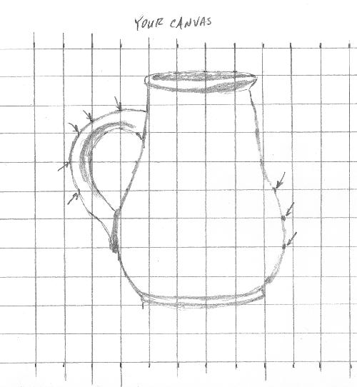 grid method drawing