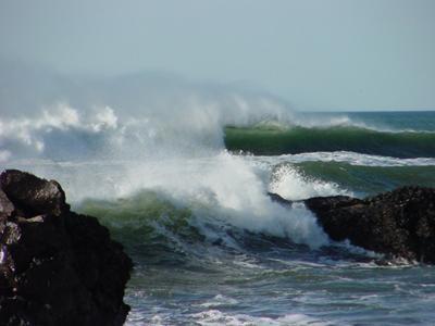 Crashing waves, Oregon Coast