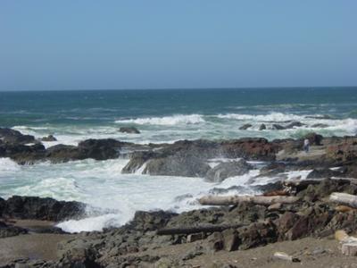Foaming Seas, Oregon Coast