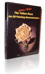 rose oil painting demonstration DVD